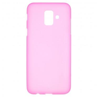 TPU gél tok Samsung Galaxy A6 2018 készülékekhez - rózsaszín