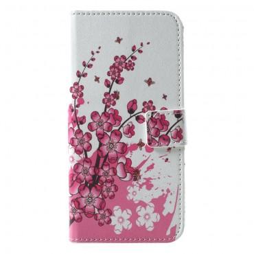 """Divatos nyitható tok """"Flower Bloom"""" Huawei Honor 10 készülékekhez"""