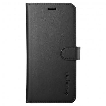 """Spigen """"Wallet S"""" tárca Samsung Galaxy A6 2018 készülékekhez – fekete"""