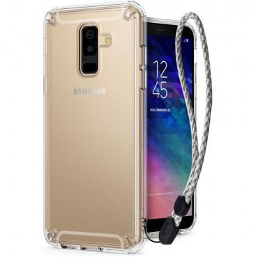 """Ringke """"Fusion"""" védőtok Samsung Galaxy A6 2018 készülékekhez - crystal view"""