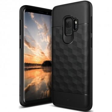 Caseology Parallax védőtok Samsung Galaxy S9 készülékekhez – fekete
