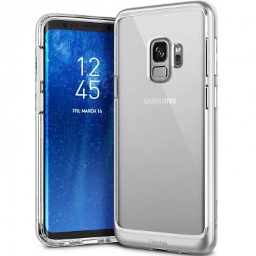 Caseology Skyfall védőtok Samsung Galaxy S9 készülékekhez – ezüst