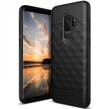 Caseology Parallax védőtok Samsung Galaxy S9 Plus készülékekhez – fekete