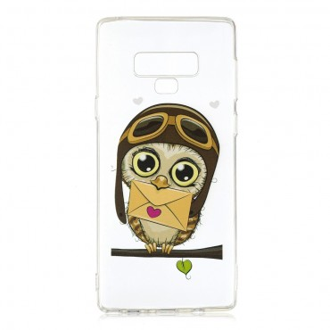 """Vékony TPU géles """"Owl"""" védőtok Samsung Galaxy Note 9 készülékekhez"""