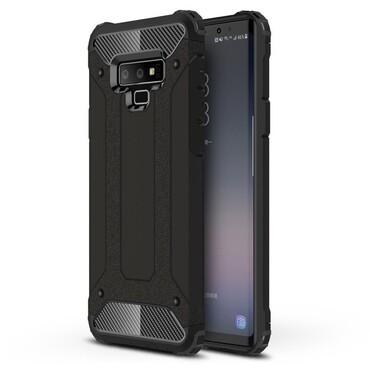 """Strapabíró """"Rock"""" védőtok Samsung Galaxy Note 9 készülékekhez – fekete"""