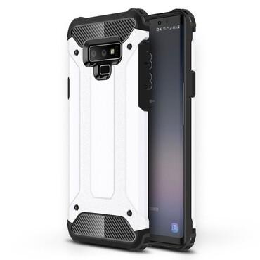 """Strapabíró """"Rock"""" védőtok Samsung Galaxy Note 9 készülékekhez – fehér"""