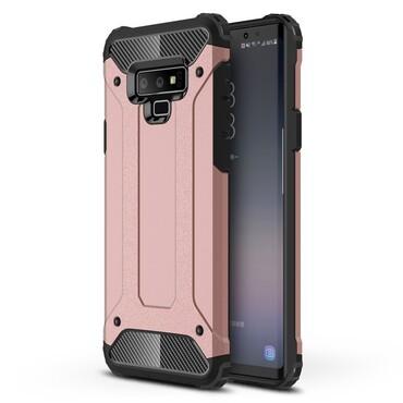 """Strapabíró """"Rock"""" védőtok Samsung Galaxy Note 9 készülékekhez – rózsaszín"""