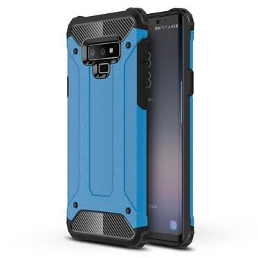 """Strapabíró """"Rock"""" védőtok Samsung Galaxy Note 9 készülékekhez – kék"""