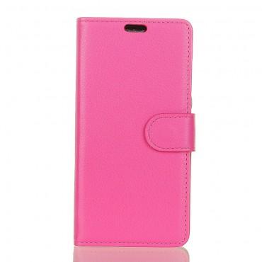 """Elegáns """"Litchi"""" tárca Samsung Galaxy Note 9 készülékekhez – rózsaszín"""