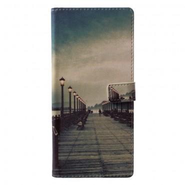 """Divatos """"Empty Pier"""" tárca Samsung Galaxy Note 9 készülékekhez"""
