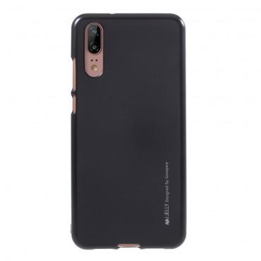 Goospery iJelly Case TPU géles védőtok Huawei P Smart készülékekhez – fekete