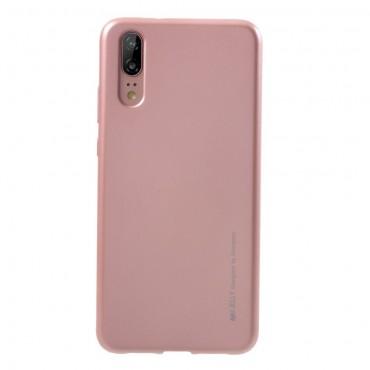 Goospery iJelly Case TPU géles védőtok Huawei Y6 2018 / Honor 7A készülékekhez – rózsaszín
