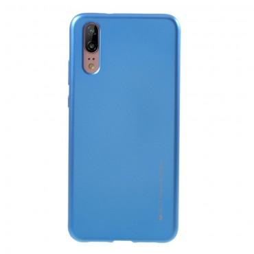 Goospery iJelly Case TPU géles védőtok Huawei Y6 2018 / Honor 7A készülékekhez – kék