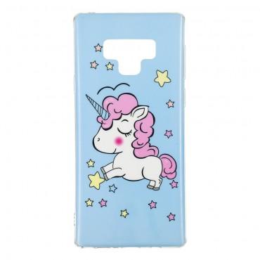 """Világító """"Unicorn"""" védőtok Samsung Galaxy Note 9 készülékhez"""