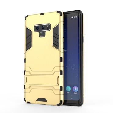 """Strapabíró """"Impact X"""" védőtok Samsung Galaxy Note 9 készülékekhez – aranyszínű"""