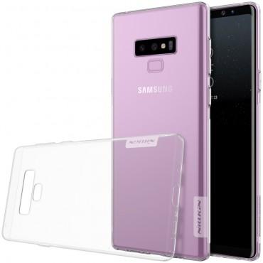 """Vékony """"Nature"""" prémium védőtok Samsung Galaxy Note 9 készülékekhez - átlátszó"""