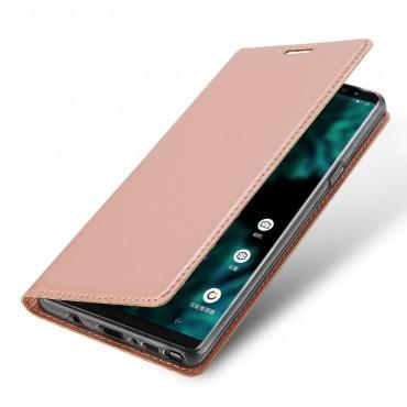 """Divatos """"Skin"""" műbőr tárca Samsung Galaxy Note 9 készülékekhez – rózsaszín"""