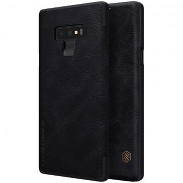 """Elegáns """"Qin"""" tárca Samsung Galaxy Note 9 készülékekhez – fekete"""