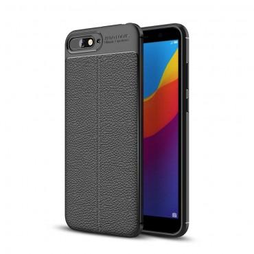 Gentry TPU géles védőtok Huawei Y6 2018 / Honor 7A készülékekhez – fekete