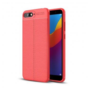 Gentry TPU géles védőtok Huawei Y6 2018 / Honor 7A készülékekhez – piros