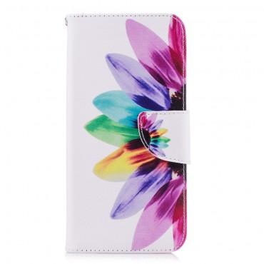 """Divatos nyitható tok """"Petals"""" Huawei P Smart készülékekhez"""