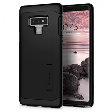 """Tok Spigen """"Slim Armor"""" Samsung Galaxy Note 9 készülékekhez - black"""
