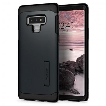 """Spigen """"Slim Armor"""" védőtok Samsung Galaxy Note 9 készülékekhez – metal slate"""