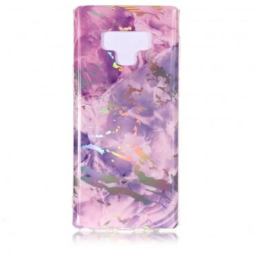 Marble divatos védőtok Samsung Galaxy Note 9 készülékekhez – rózsaszín