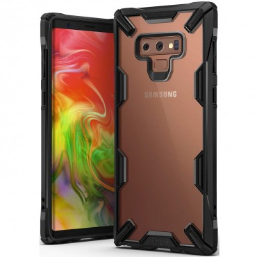 "Ringke ""Fusion X"" borító Samsung Galaxy Note 9 telefonokhoz - black"