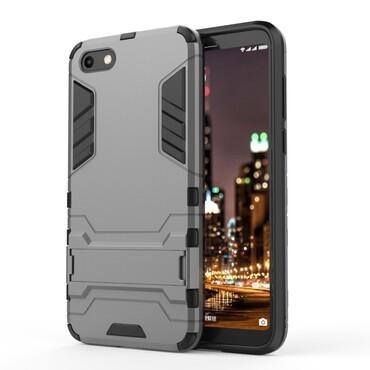 """Strapabíró """"Impact X"""" védőtok Huawei Y5 2018 / Y5 Prime 2018 - roza készülékekhez – szürke"""