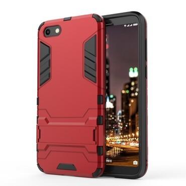 """Strapabíró """"Impact X"""" védőtok Huawei Y5 2018 / Y5 Prime 2018 - roza készülékekhez – piros"""
