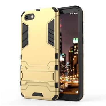 """Strapabíró """"Impact X"""" védőtok Huawei Y5 2018 / Y5 Prime 2018 - roza készülékekhez – aranyszínű"""