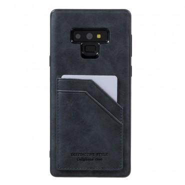 """""""Cardie"""" műbőrtárca Samsung Galaxy Note 9 készülékekhez – piros"""