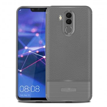 """TPU gél tok """"Gritty"""" Huawei Mate 20 Lite készülékekhez - szürke"""