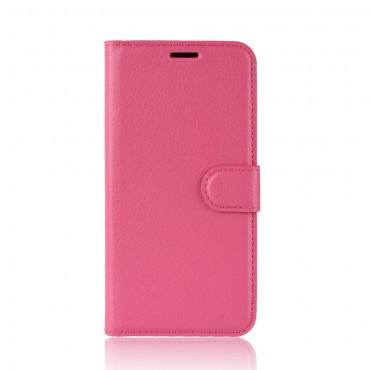 """Elegáns """"Litchi"""" tárca Huawei Mate 20 Lite készülékekhez – rózsaszín"""