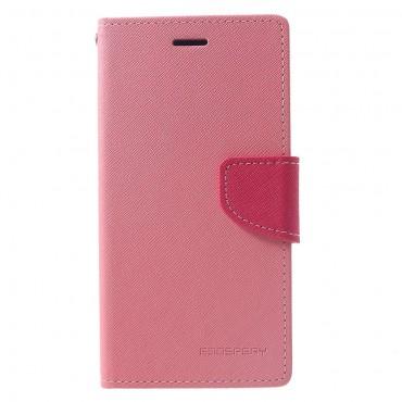 Goospery Fancy Diary tárca iPhone XR készülékekhez – rózsaszín