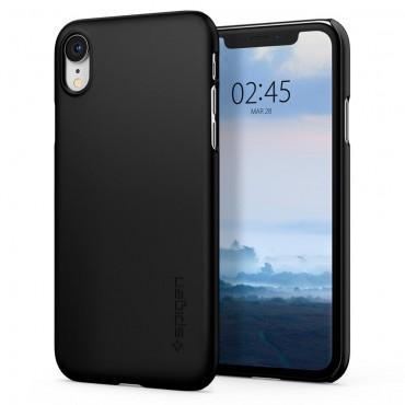 """Tok Spigen """"Thin Fit"""" iPhone XR készülékekhez - black"""