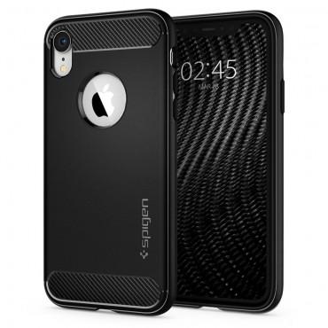 """Spigen """"Rugged Armor"""" védőtok iPhone XR készülékekhez – fekete"""