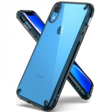 """Ringke """"Fusion"""" védőtok iPhone XR készülékekhez – smoke black"""