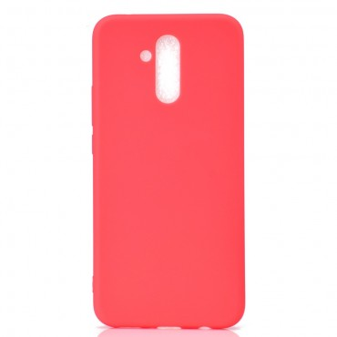 TPU géles védőtok Huawei Mate 20 Lite készülékekhez – piros