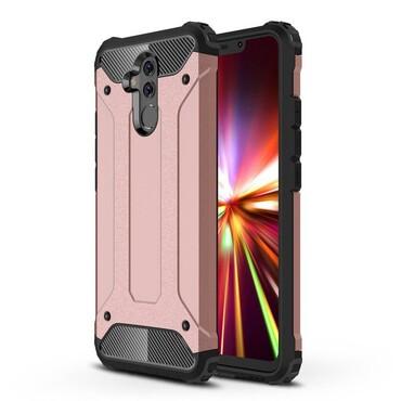"""Strapabíró """"Rock"""" védőtok Huawei Mate 20 Lite készülékekhez – rózsaszín"""