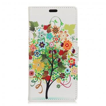 """Divatos """"Tree of Dreams"""" tárca Huawei Mate 20 Lite készülékekhez"""