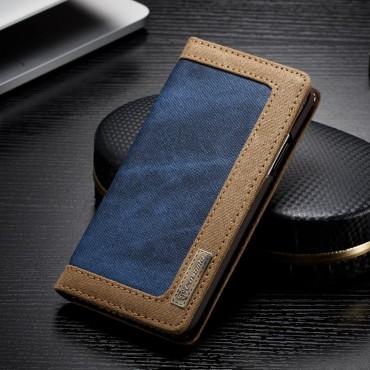 Business prémium tárca iPhone X / XS készülékekhez – kék