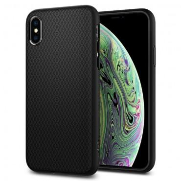"""Spigen """"Liquid Air"""" védőtok iPhone X / XS készülékhez – fekete"""