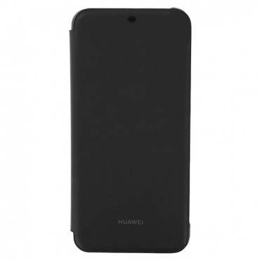 """Eredeti """"Flip Cover"""" védőtok Huawei Mate 20 Lite - fekete"""