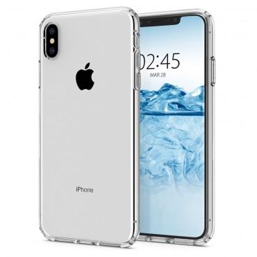"""Spigen """"Liquid Crystal"""" védőtok iPhone X / XS készülékhez - crystal clear"""