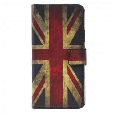 """Divatos """"Retro UK"""" tárca Huawei Mate 20 Lite készülékekhez"""
