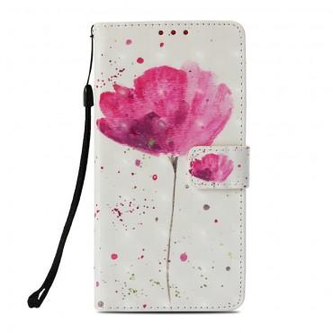 """Divatos nyitható tok """"In Bloom"""" Huawei Mate 20 Lite készülékekhez"""