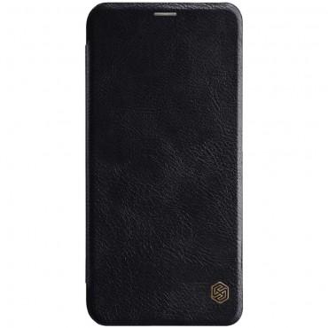 """Elegáns nyitható tok """"Qin"""" Huawei Mate 20 Lite készülékekhez - fekete"""