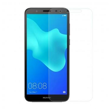 Minőségű 0.3 mm védőüveg Huawei Y5 2018 / Y5 Prime 2018 - roza készülékekhez